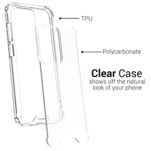 Samsung Galaxy S20 Ultra Clear Case Hard Slim Protective Phone Cover - Pure View Series