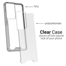 Load image into Gallery viewer, Samsung Galaxy S21 Ultra Clear Case Hard Slim Protective Phone Cover - Pure View Series