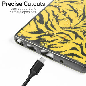 Samsung Galaxy Note 10 Case Safari Skin Slim Fit TPU Animal Print Phone Cover