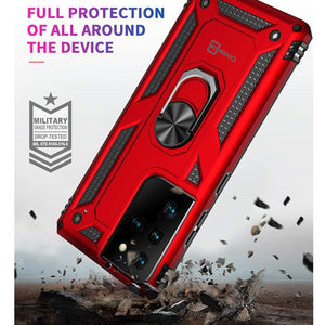 Samsung Galaxy S21 Ultra Case with Metal Ring - Resistor Series
