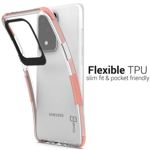 Samsung Galaxy S20 Ultra Clear Case - Protective TPU Rubber Phone Cover - Collider Series