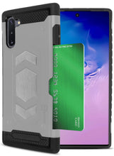 Load image into Gallery viewer, Samsung Galaxy Note 10 Card Case with Metal Plate - Metal Series