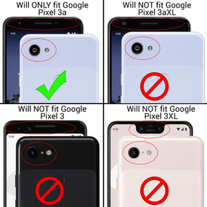 Google Pixel 3a Case - Slim TPU Rubber Phone Cover - FlexGuard Series