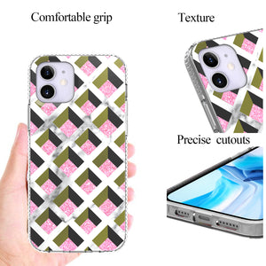 Apple iPhone 12 Pro / iPhone 12 Max Design Case - Shockproof TPU Grip IMD Design Phone Cover