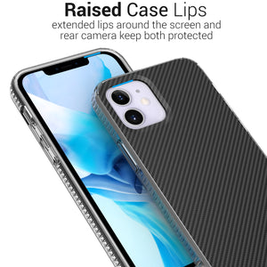 Apple iPhone 12 Pro / iPhone 12 Design Case - Shockproof TPU Grip IMD Design Phone Cover