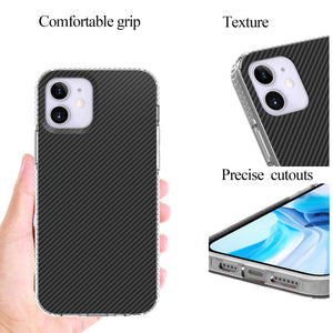 Apple iPhone 12 Design Case - Shockproof TPU Grip IMD Design Phone Cover