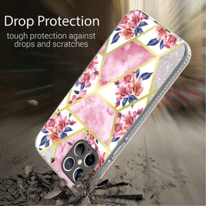 Apple iPhone 12 Pro Max Design Case - Shockproof TPU Grip IMD Design Phone Cover
