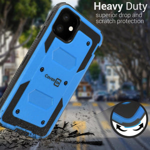 iPhone 11 Case - Heavy Duty Shockproof Phone Cover - Tank Series