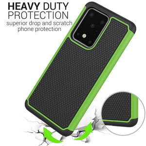 Samsung Galaxy S20 Ultra Case - Heavy Duty Protective Hybrid Phone Cover - HexaGuard Series