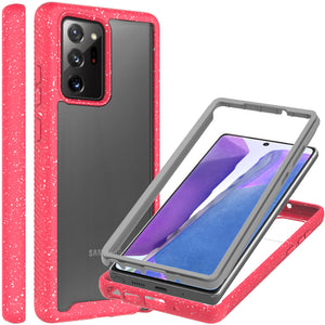 Samsung Galaxy Note 20 Ultra Case - Heavy Duty Shockproof Clear Phone Cover - EOS Series