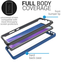Load image into Gallery viewer, Samsung Galaxy Note 20 Case - Heavy Duty Shockproof Clear Phone Cover - EOS Series