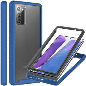 Samsung Galaxy Note 20 Case - Heavy Duty Shockproof Clear Phone Cover - EOS Series