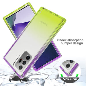 Samsung Galaxy Note 20 Ultra Clear Case Full Body Colorful Phone Cover - Gradient Series