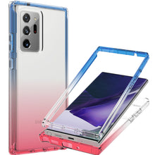 Load image into Gallery viewer, Samsung Galaxy Note 20 Ultra Clear Case Full Body Colorful Phone Cover - Gradient Series