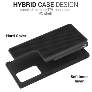 Samsung Galaxy Note 20 Ultra Case - Heavy Duty Protective Hybrid Phone Cover - HexaGuard Series