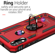 Load image into Gallery viewer, Motorola Moto E (2020) Case with Metal Ring - Resistor Series