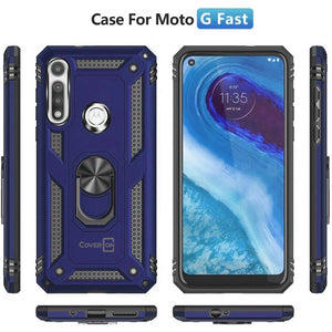 Motorola Moto G Fast Case with Metal Ring - Resistor Series