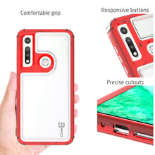 Load image into Gallery viewer, Motorola Moto G Fast Clear Case - Full Body Tough Military Grade Shockproof Phone Cover