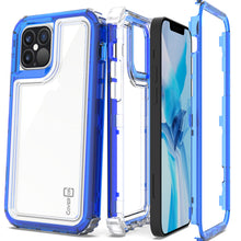 Load image into Gallery viewer, Apple iPhone 12 Pro Max Clear Case - Full Body Tough Military Grade Shockproof Phone Cover