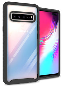 Samsung Galaxy S10 5G Case - Heavy Duty Full Body Shockproof Clear Phone Cover - EOS Series