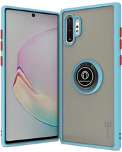 Load image into Gallery viewer, Samsung Galaxy Note 10 Plus / Galaxy Note 10 Plus 5G Case - Clear Tinted Metal Ring Phone Cover - Dynamic Series