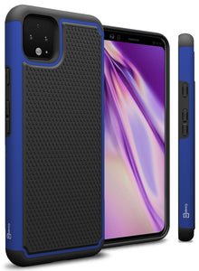 Google Pixel 4 XL Case - Heavy Duty Protective Hybrid Phone Cover - HexaGuard Series