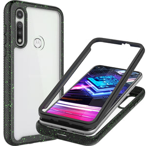 Motorola Moto G Fast Case - Heavy Duty Shockproof Clear Phone Cover - EOS Series