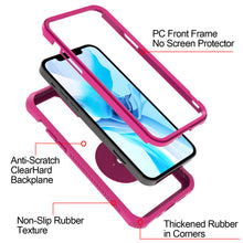 Load image into Gallery viewer, Apple iPhone 12 / iPhone 12 Pro Case - Clear Tinted Metal Ring Phone Cover - Dynamic Series