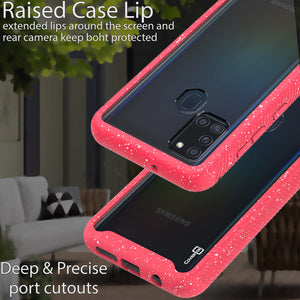 Samsung Galaxy A21s Case - Heavy Duty Shockproof Clear Phone Cover - EOS Series