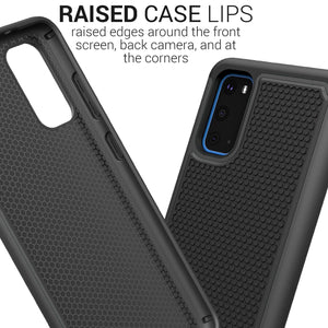 Samsung Galaxy S20 Case - Heavy Duty Protective Hybrid Phone Cover - HexaGuard Series