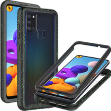 Load image into Gallery viewer, Samsung Galaxy A21s Case - Heavy Duty Shockproof Clear Phone Cover - EOS Series