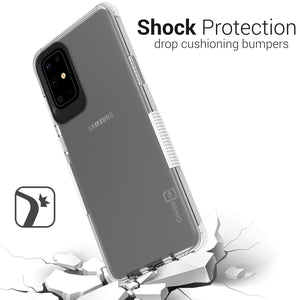 Samsung Galaxy S20 Plus Clear Case - Protective TPU Rubber Phone Cover - Collider Series