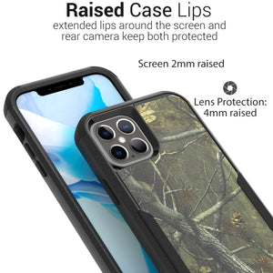 Apple iPhone 12 / iPhone 12 Pro Case - Military Grade Shockproof Phone Cover