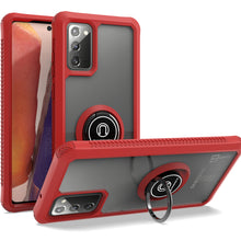 Load image into Gallery viewer, Samsung Galaxy Note 20 Case - Clear Tinted Metal Ring Phone Cover - Dynamic Series
