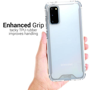 Samsung Galaxy S20 Clear Case Hard Slim Protective Phone Cover - Pure View Series