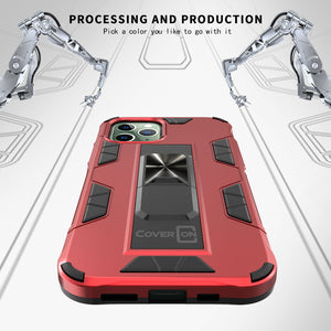Apple iPhone 12 Pro Max Case with Magnetic Kickstand Ring