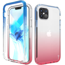 Load image into Gallery viewer, Apple iPhone 12 Pro Max Clear Case Full Body Colorful Phone Cover - Gradient Series