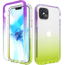 Load image into Gallery viewer, Apple iPhone 12 / iPhone 12 Pro Clear Case Full Body Colorful Phone Cover - Gradient Series