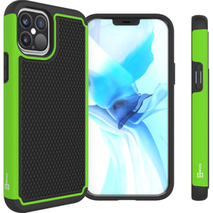 Apple iPhone 12 Pro Max Case - Heavy Duty Protective Hybrid Phone Cover - HexaGuard Series