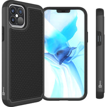 Load image into Gallery viewer, Apple iPhone 12 / iPhone 12 Pro Case - Heavy Duty Protective Hybrid Phone Cover - HexaGuard Series