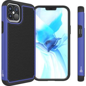 Apple iPhone 12 / iPhone 12 Pro Case - Heavy Duty Protective Hybrid Phone Cover - HexaGuard Series