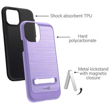Load image into Gallery viewer, iPhone 11 Pro Case - Metal Kickstand Hybrid Phone Cover - SleekStand Series