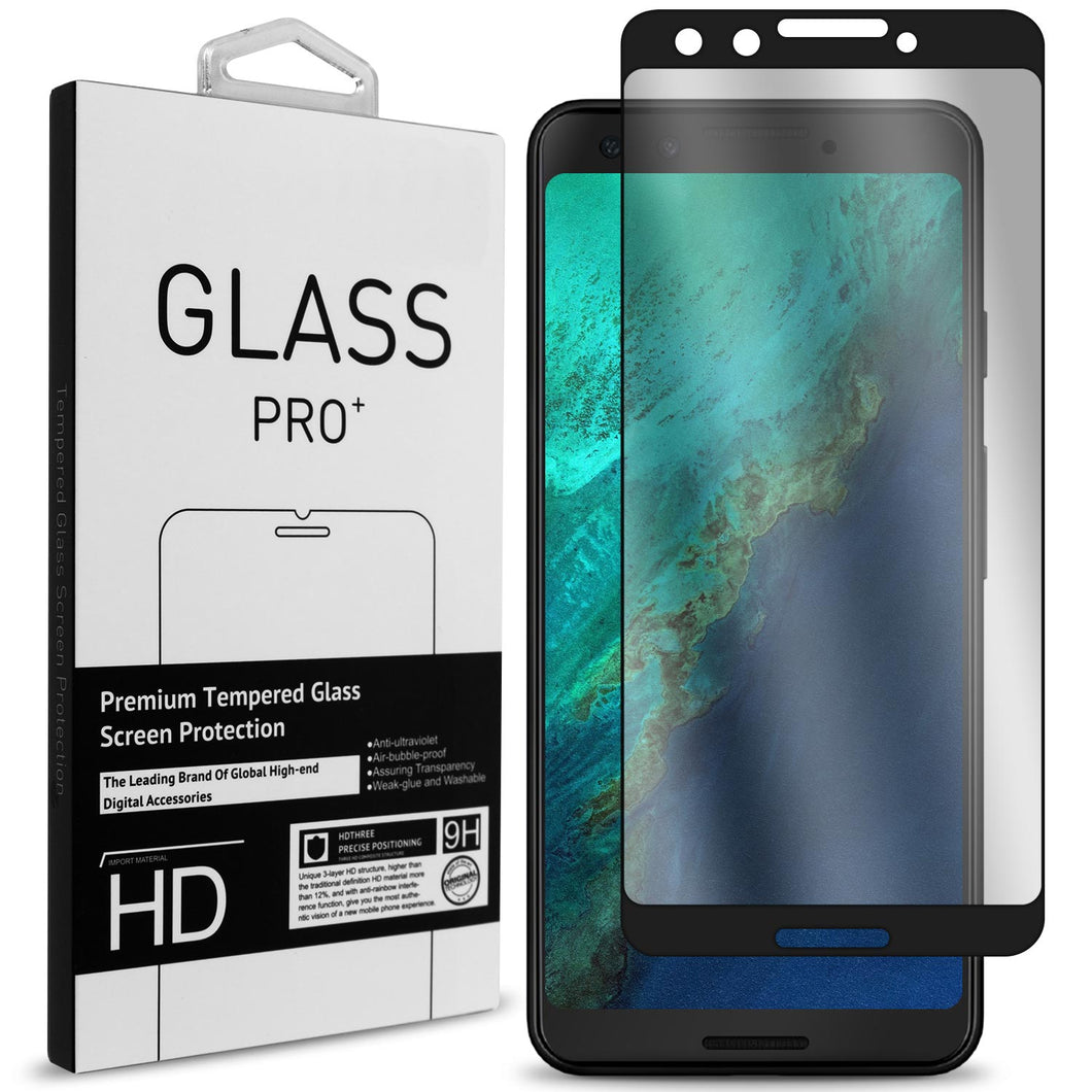 Google Pixel 3 Tempered Glass Screen Protector - InvisiGuard Series