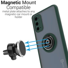 Load image into Gallery viewer, Samsung Galaxy S20 Case Clear Tinted with Metal Ring Holder - Dynamic Series