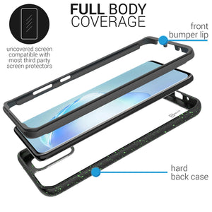 Samsung Galaxy S20 Plus Case - Heavy Duty Shockproof Clear Phone Cover - EOS Series