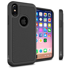 Load image into Gallery viewer, iPhone XS / iPhone X Case - Heavy Duty Protective Hybrid Phone Cover - HexaGuard Series