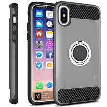 Load image into Gallery viewer, iPhone XS / iPhone X Case with Ring - Magnetic Mount Compatible - RingCase Series