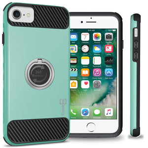 iPhone SE 2020, iPhone 8, iPhone 7 Case with Ring - Magnetic Mount Compatible - RingCase Series