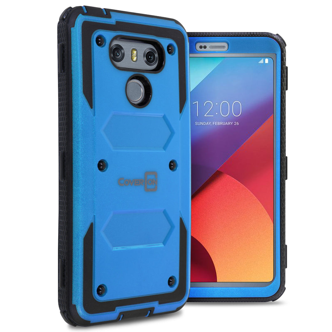 LG G6 / G6 Plus Case - Heavy Duty Shockproof Phone Cover - Tank Series
