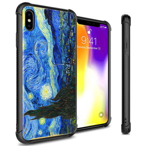 iPhone XS Max Tempered Glass Phone Cover Case - Gallery Series